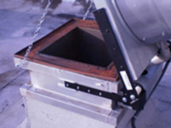 commercial kitchen exhaust fan hinges installed repaired tampa