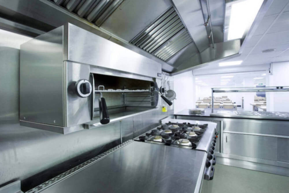 Commercial Kitchen Equipment Cleaning Service