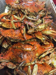 blue crabs in clearwater